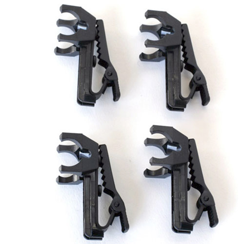 Shure RK240SB Single Mount Tie-Clips (Contains Four)