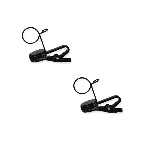 Shure RK183T1 Single Mount Tie-Clips (Contains Two)