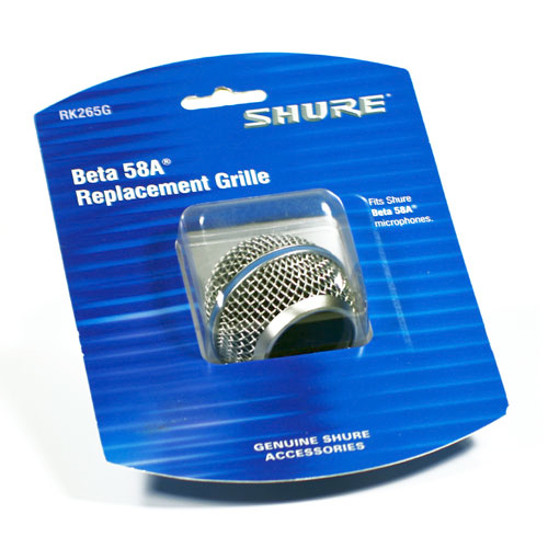 Shure RK265G Beta 58 Microphone Replacement Grille