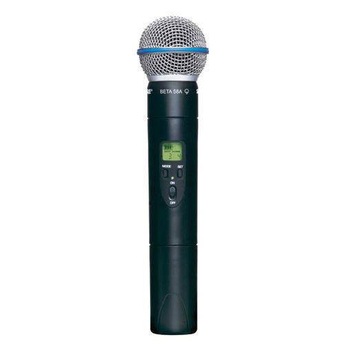 Shure ULX2/BETA58-G3 Wireless Handheld Transmitter with BETA58 Microphone, G3 Frequency
