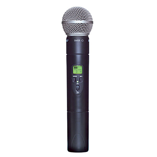 Shure ULX2/58-G3 Wireless Handheld Transmitter with SM58 Microphone, G3 Frequency