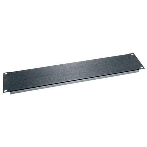 Middle Atlantic BL2 2 Space Aluminum Blank Panel, Flanged