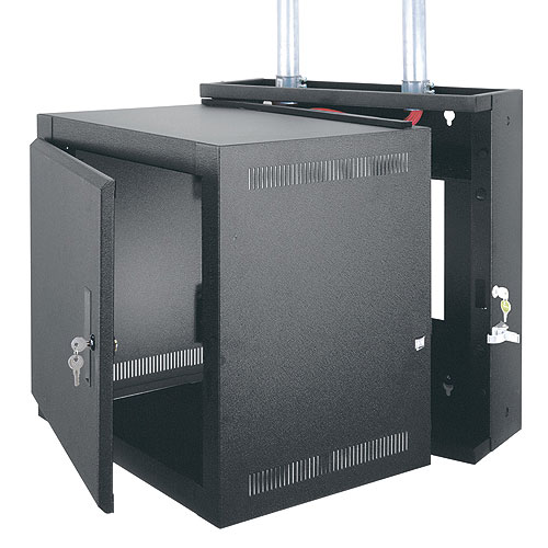 Middle Atlantic EWR-12-22SD  EWR Series Wall Rack, 12 Space, Solid Door