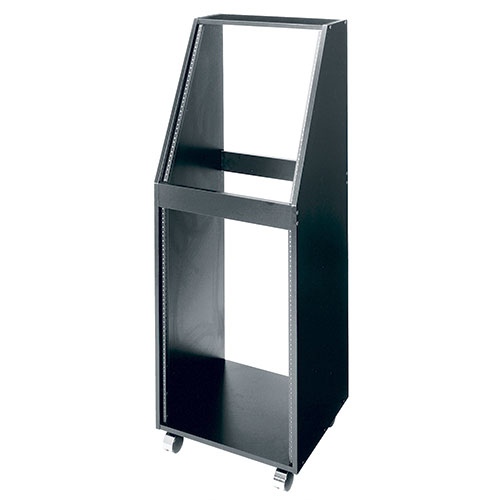 Middle Atlantic SRK Sloped Rack with Wheels, Black