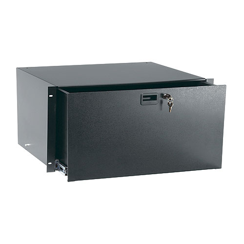 Middle Atlantic TD5LK Textured Drawer with Lock, 5 Rack Spaces