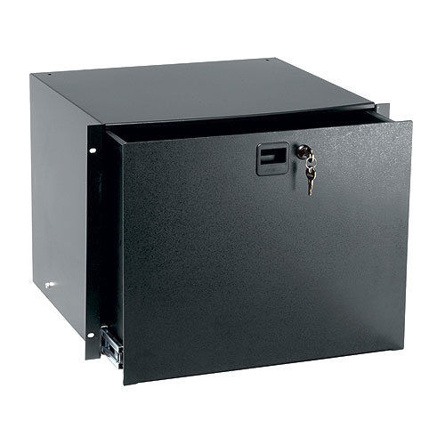Middle Atlantic TD8FLK Textured Drawer with Lock and File Kit, 8 Rack Spaces