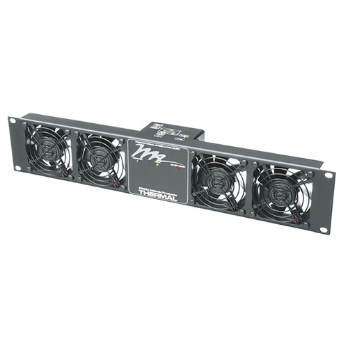 Middle Atlantic UQFP-4 Ultra Quiet, 4 Fan Panel, 100 CFM, 27dB