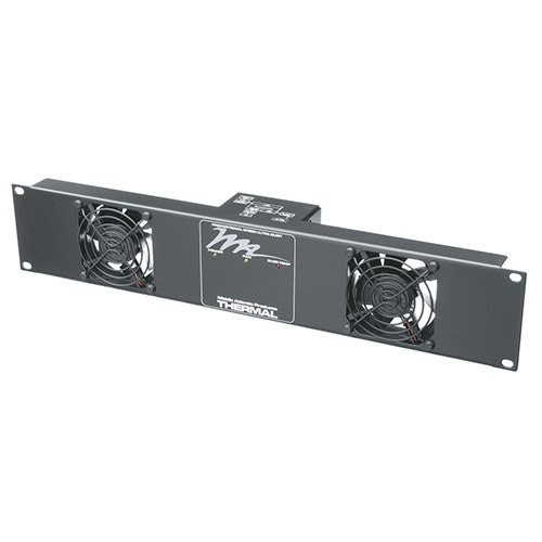 Middle Atlantic UQFP-2 Ultra Quiet, 2 Fan Panel, 50 CFM, 24dB