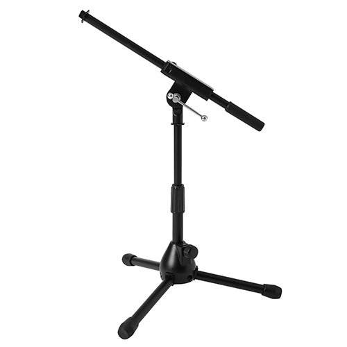 JamStands JS-MCFB50 Low-Profile Short Mic Stand with Boom, Black