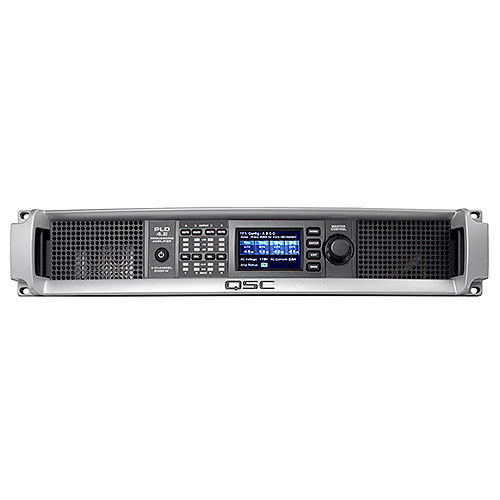 QSC PLD4.2-NA Power Amplifier, 4 channels, 700 watts/ch at 4 ohms
