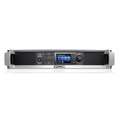 QSC PLD4.3-NA Power Amplifier, 4 channels,1400 watts/ch at 4 ohms