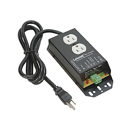 Lowell RPC-15 Remote Power Control-15A, 1 Duplex Outlet, 6ft Cord