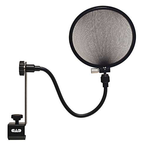 "CAD Audio EPF15A 6"" Pop Filter on 15"" Gooseneck"