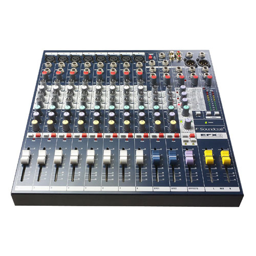 Soundcraft EFX8 8 Channel Mixer with Lexicon Digital Effects