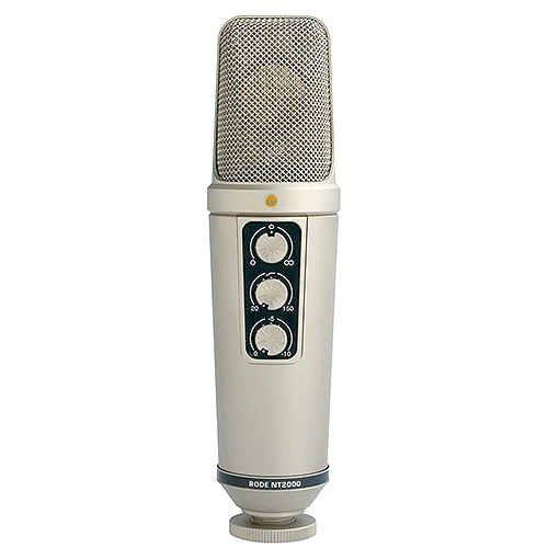 "Rode Microphones NT2000 Seamlessly variable dual 1"" condenser microphone"
