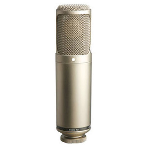 "Rode Microphones K2 Seamlessly variable dual 1"" condenser valve microphone."