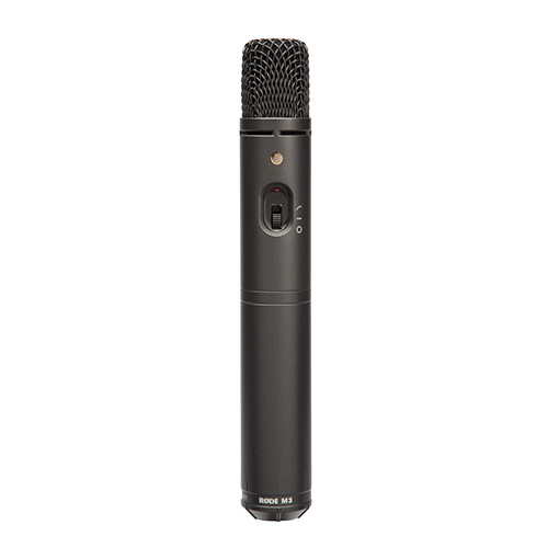 Rode Microphones M3 Studio and location multi-powered cardioid condenser microphone with switchable HPF and PAD.