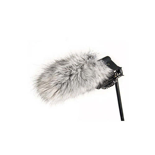 Rode Microphones Deadcat Artificial fur is specially designed so as to minimise wind noise.