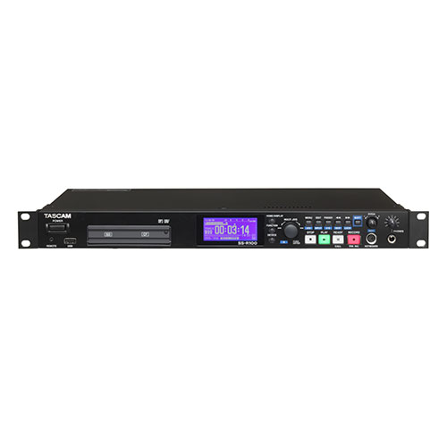 Tascam SS-R100 Single Space Solid State Recorder