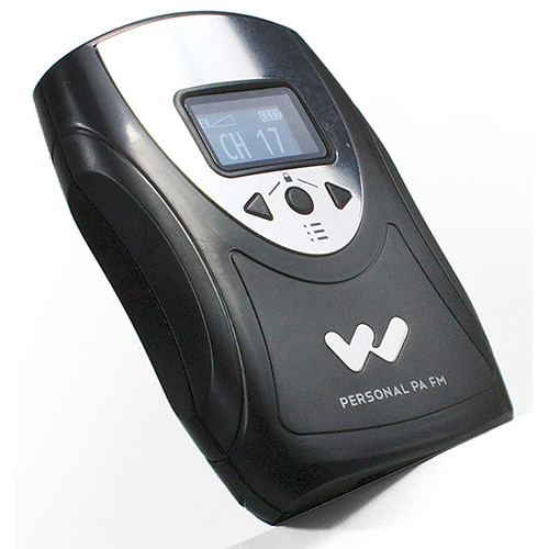 Williams Sound PPA T46 FM Personal PA Body-pack Transmitter with OLED display.