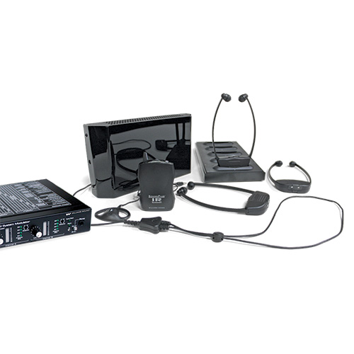 Williams Sound WIR SYS 3 SoundPlus Deluxe Courtroom two channel Infrared system