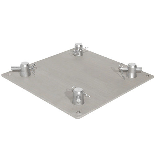 Trusst CT290-4112B 12in Aluminum Base Plate (includes 1 set of half-conical connectors)