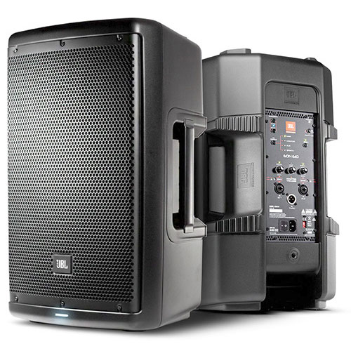 "JBL EON610 Powered 10"" Two-way stage monitor or front of house speaker system."