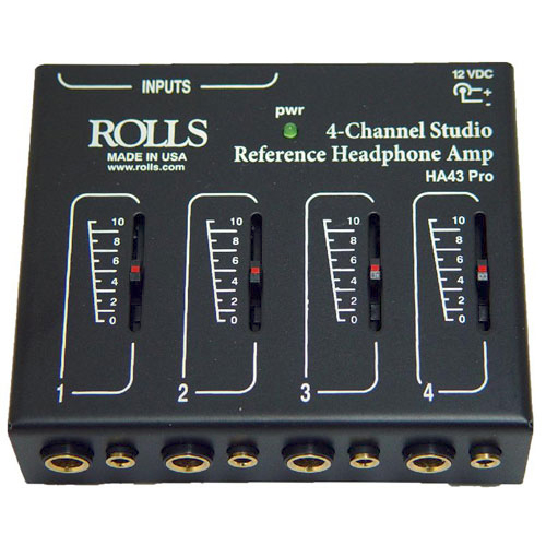 Rolls Audio HA43 Pro 4 Channel Headphone Amp
