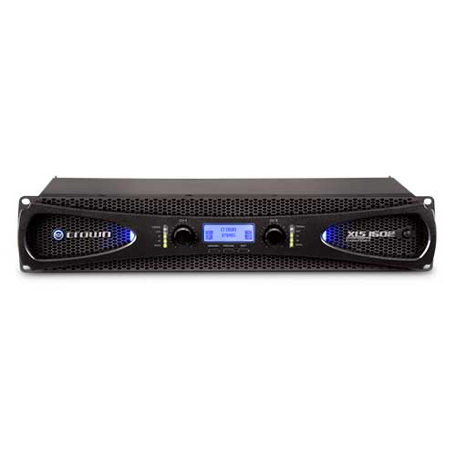 Crown XLS 1502 DriveCore 2 Series Two-channel Power Amplifier with larger LCD display and more DSP