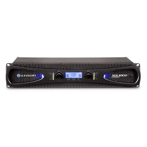 Crown XLS 1002 DriveCore 2 Series Two-channel Power Amplifier with larger LCD display and more DSP
