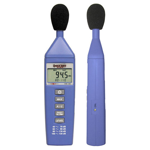 Galaxy Audio CM-130 CheckMate  Sound Pressure Level Meter