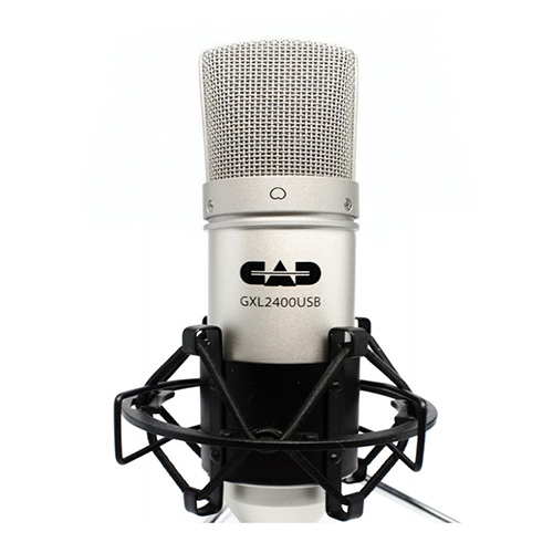 CAD Audio GXL2600USB Premium USB Large Diaphragm Cardioid Condenser Microphone w/Tripod Stand, 10' USB Cable