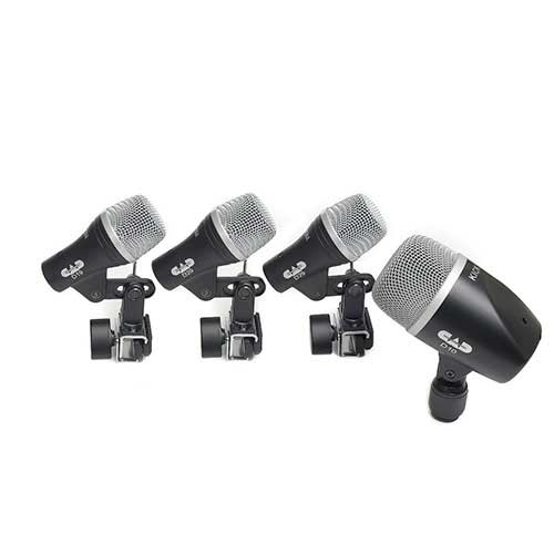 CAD Audio STAGE4 4-piece Drum Microphone Pack - two D29, one D19, one D10