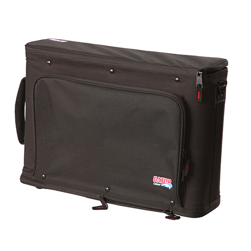 Gator GR-RACKBAG-2U 2U Lightweight rack bag with aluminum frame and PE reinforcement