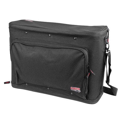 Gator GR-RACKBAG-3U 3U Lightweight rack bag with aluminum frame and PE reinforcement