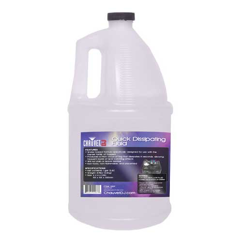 Chauvet DJ QDF Quick Dissipating Fog Fluid - Gallon