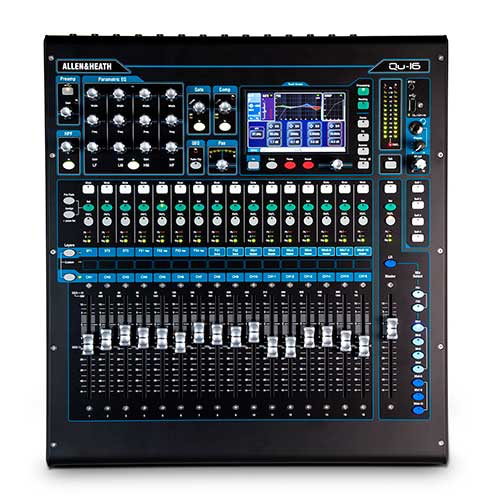 Allen & Heath QU-16C Rackmount Digital Console with 16 Inputs