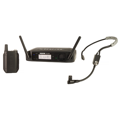 Shure GLXD14/SM35-Z2 GLXD14 Headworn Wireless Systemwith SM35 Headset Microphone