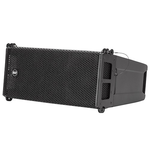 "RCF HDL6-A Active 1400W 2-way line array module with (2) 6.5"" + 1"" HF"