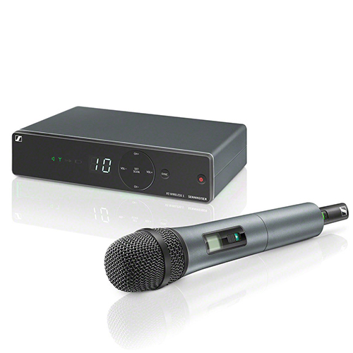 Sennheiser XSW1-825-A Wireless Handheld System, 825 capsule. Frequency A (548-572 MHz)