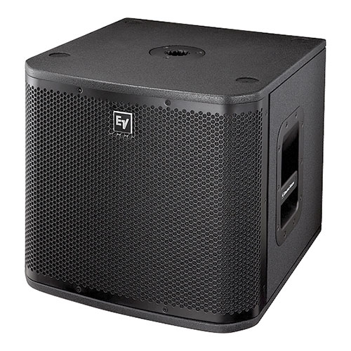 "Electro-Voice ZXA1-SUB-120V Powered 12"" Subwoofer, Black"
