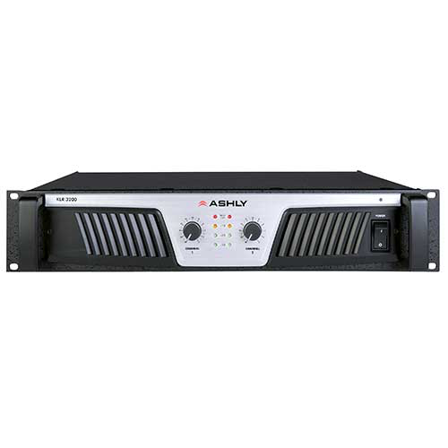 Ashly KLR-3200 Power Amplifier 2 x (1,600W @ 2) (1,100W @ 4) (650W @ 8) Ohms (800W @ 70V)