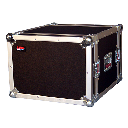Gator G-TOUR 8U ATA Wood Flight Rack Case; 8U; 17 inch Deep