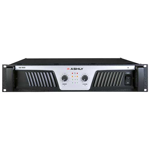 Ashly KLR-5000 Power Amplifier 2 x (2,500W @ 2) (1,700W @ 4) (1,000W @ 8) Ohms