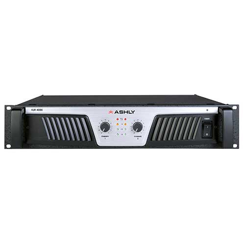 Ashly KLR-4000 Power Amplifier 2 x (2,000W @ 2) (1,400W @ 4) (850W @ 8) Ohms