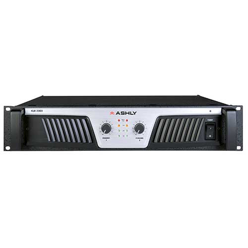 Ashly KLR-2000 Power Amplifier 2 x (1,000W @ 2) (600W @ 4) (350W @ 8) Ohms