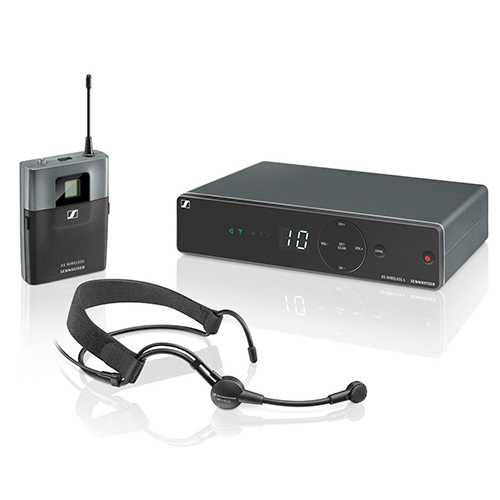Sennheiser XSW1-ME3-A Wireless Headset System, ME3-II Headset. Frequency A (548-572 MHz)