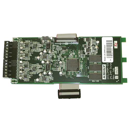 Ashly ne24.24M Output 4-Output Card for NE24.24M Protea DSP Audio Matrix Processor (Boxed)