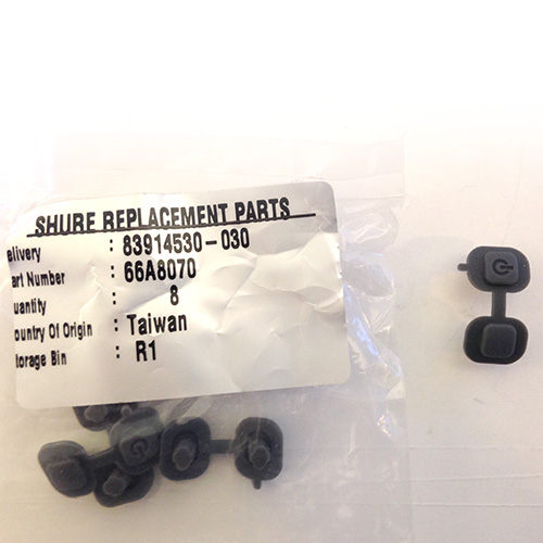 Shure 66A8070 SLX Handheld Transmitter Switch Cover