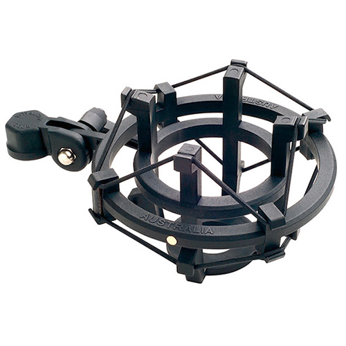 Rode Microphones SM2 The SM2 is a suspension shock mount that holds a range of large diaphragm condenser microphones